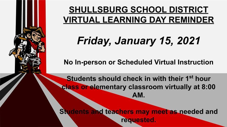 virtual learning reminder
