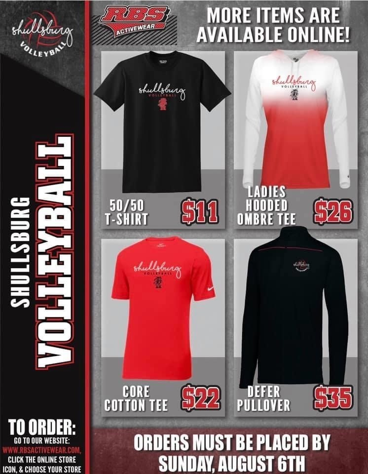 Volleyball apparel